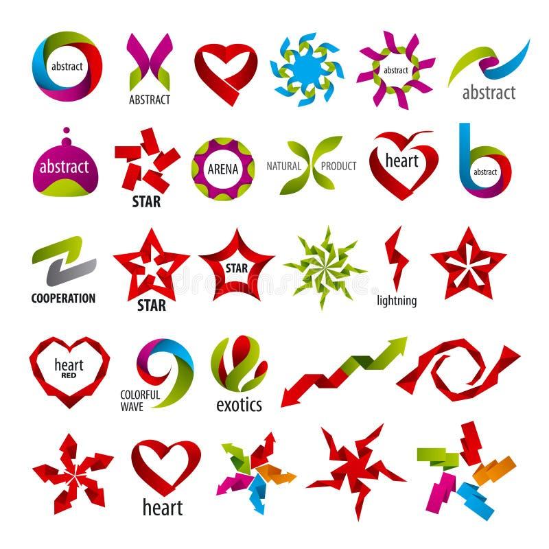 Kolekcja wektorowa logo abstrakcja ilustracja wektor