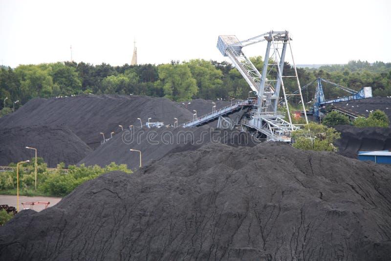 Kolenmijn stock foto