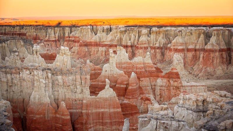 Kolenmijncanion in Arizona stock fotografie