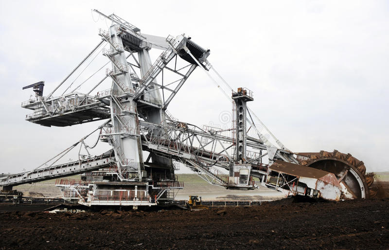 Kolenmijnindustrie royalty-vrije stock fotografie