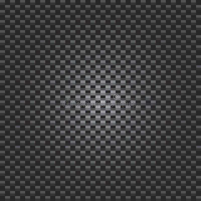kolfiber royaltyfri illustrationer
