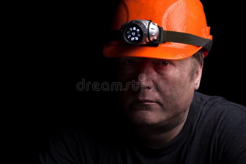 Kolgruvarbetare royaltyfri fotografi