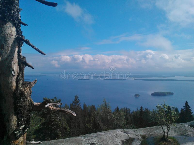 Koli, Finland royalty-vrije stock afbeeldingen
