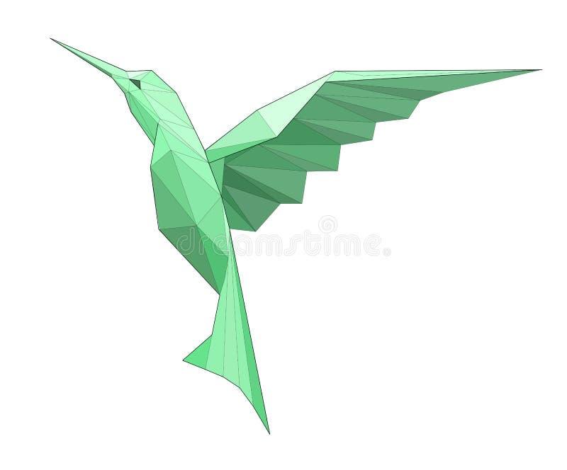 Kolibri ilustração royalty free