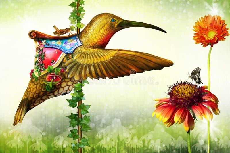 Kolibrie stock afbeeldingen