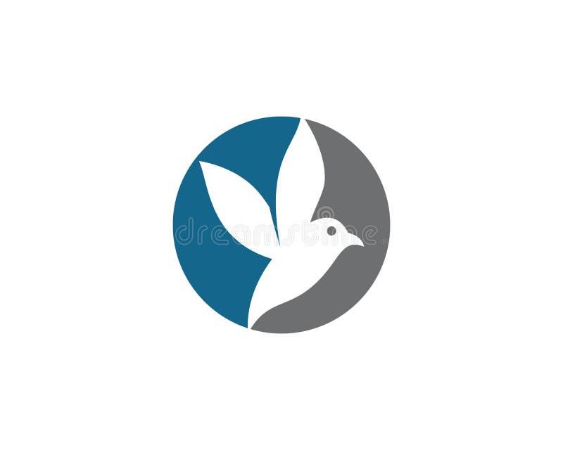 Kolibrie Logo Template vector illustratie