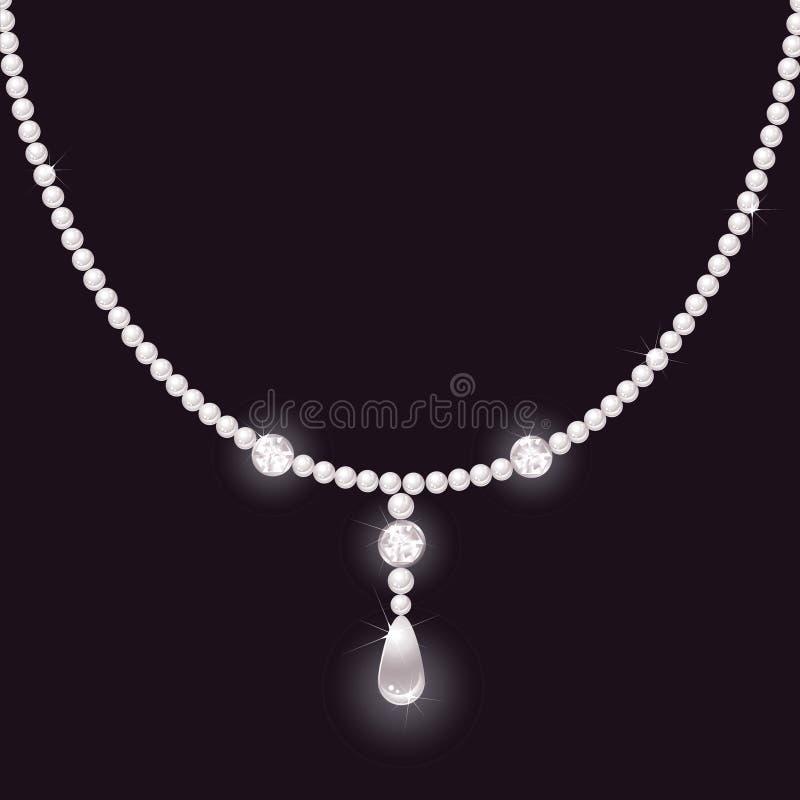 kolii perła royalty ilustracja