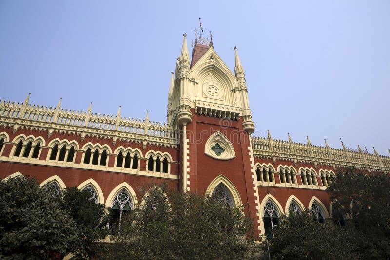 Kolkata. The high justice court of kolkata stock image