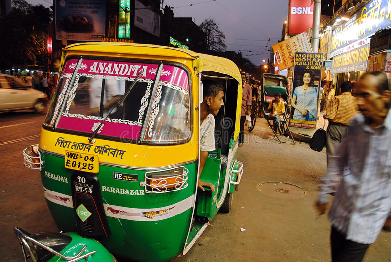 Kolkata in India fotografia stock libera da diritti
