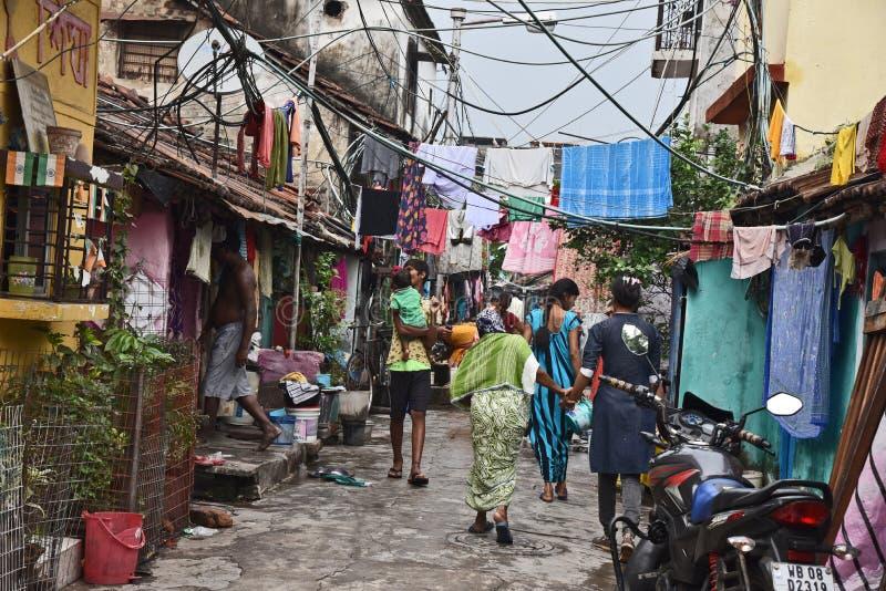 Slum Dwellers Of Kolkata-India Editorial Image - Image
