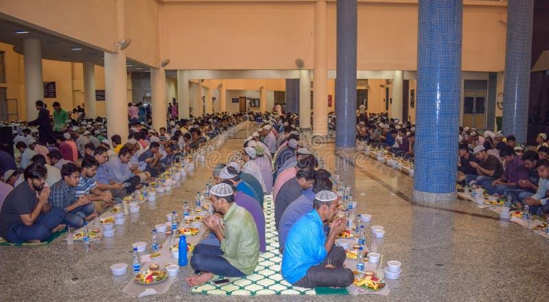 KOLKATA, INDIA - MEI 24, 2019: Dit is Iftar-partij royalty-vrije stock foto's