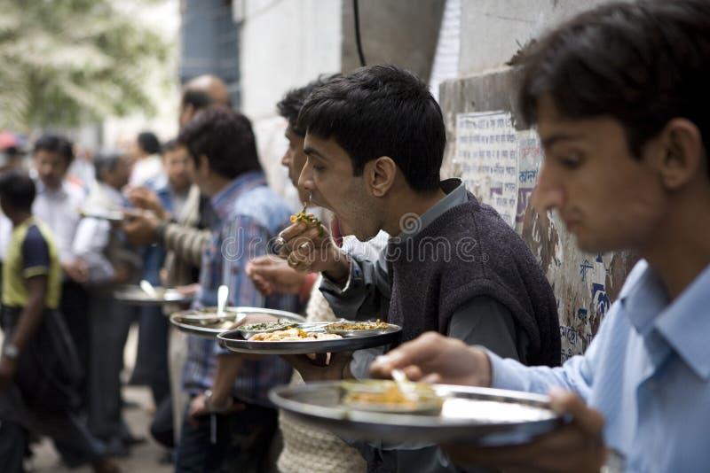 Kolkata. India, Kolkata street food with colors stock images
