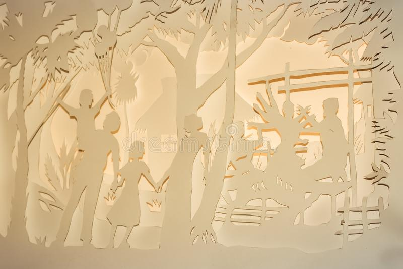 Kolkata Indien Maj 2019: Keramik och exponeringsglas i konst Krukmakeri ?r mest billig utbredd typ av konst som reflekterar lokal royaltyfria foton