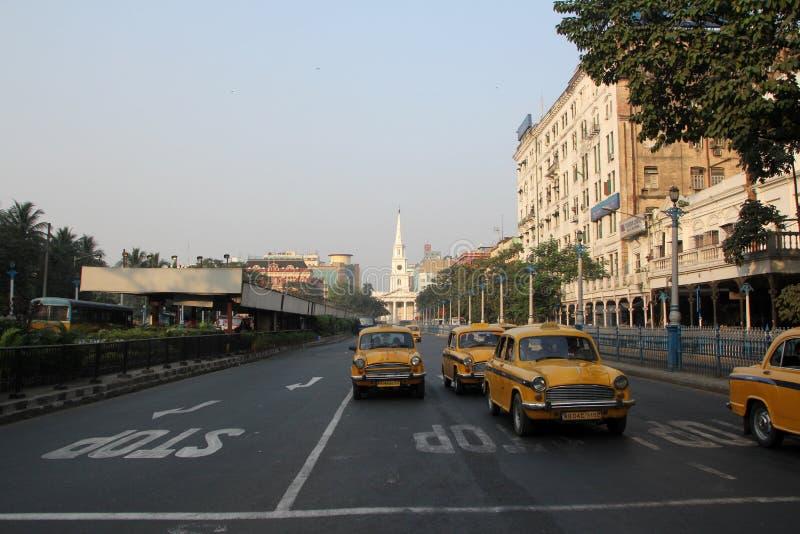Kolkata Taxi royalty free stock photos