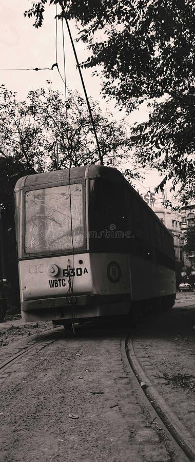 Kolkatatram stock afbeelding