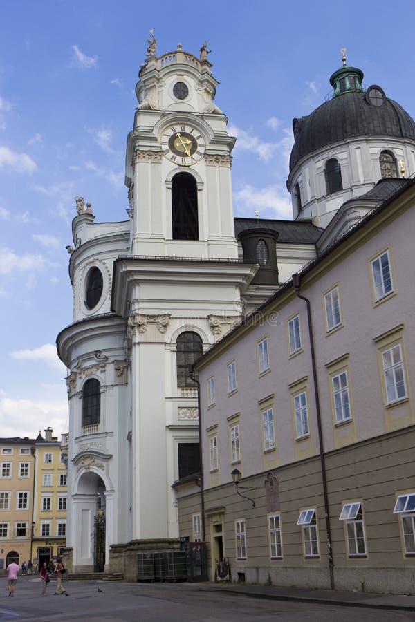 Kollegienkirche (Salzburg) foto de stock