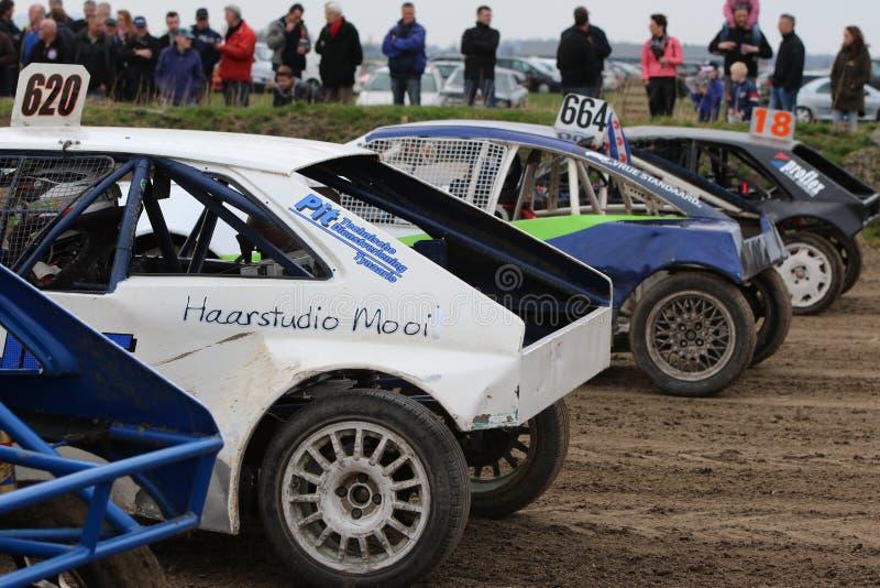 Kollum Autocross стоковая фотография rf