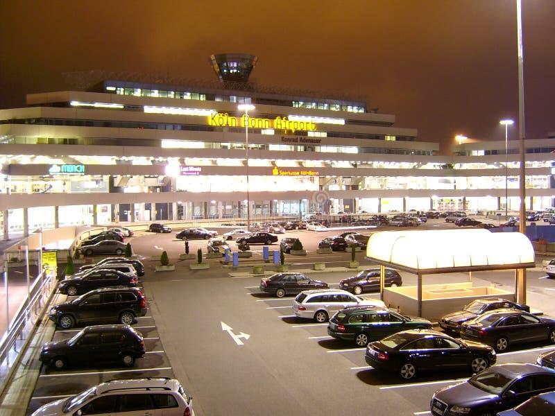 Koln波恩机场 免版税库存照片