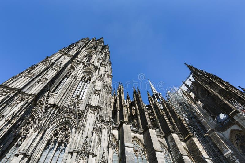 Koloński Katedralny szczegółu widok, Niemcy obraz royalty free