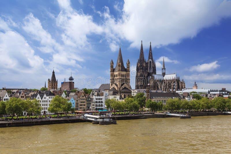 Koloński Niemcy zdjęcia royalty free