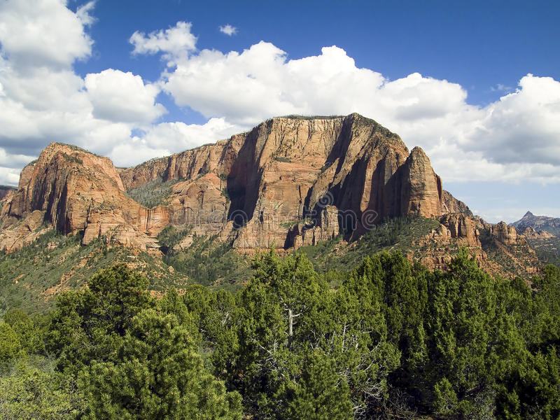 Kolob Canyons District of Zion NP, Utah royalty free stock photos