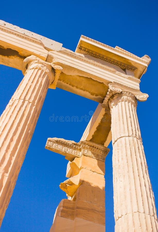 Kolom Grecce stock fotografie