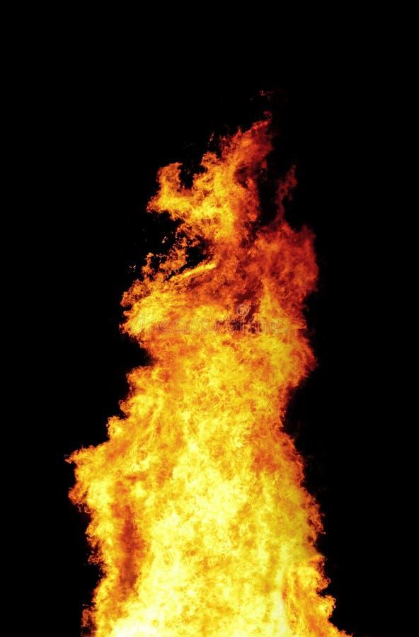 Kolom van brand royalty-vrije stock afbeeldingen