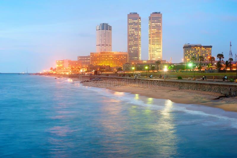 Kolombo śródmieście zdjęcie royalty free
