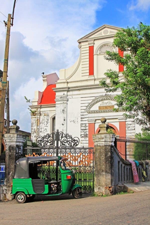 Kolombo holendera Reformowany kościół, Sri Lanka fotografia stock