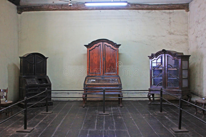 Kolombo Holenderski Muzealny eksponat obraz stock