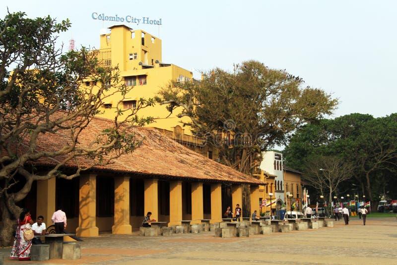 Kolombo miasta hotel obrazy stock