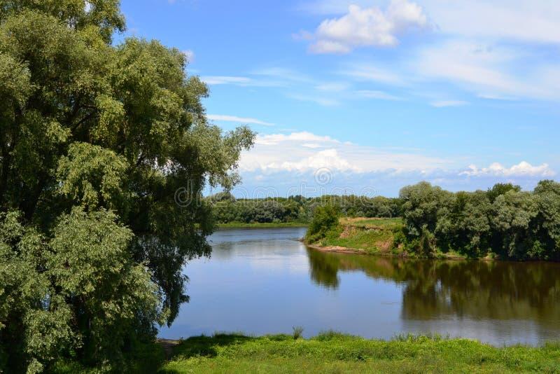 Kolomenka-Fluss stockfotos