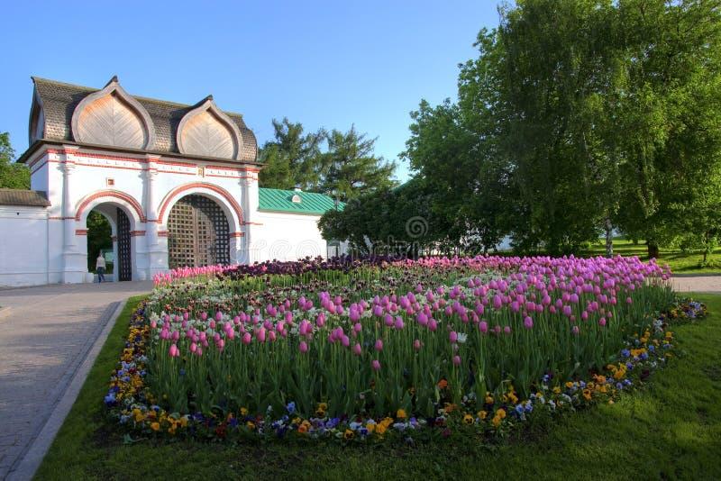 kolomenskoe莫斯科公园 库存图片