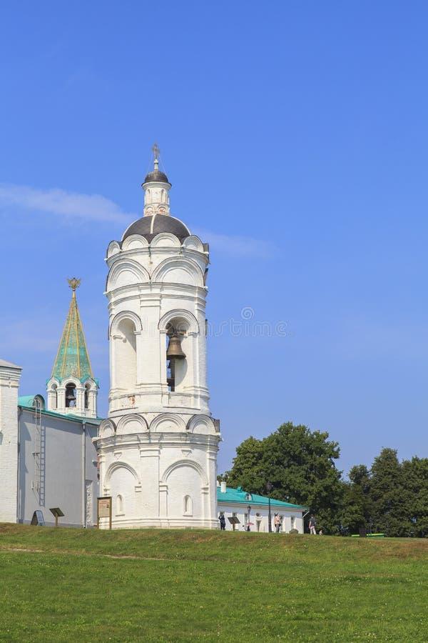 Kolomenskoe kyrka i Moskva royaltyfri fotografi