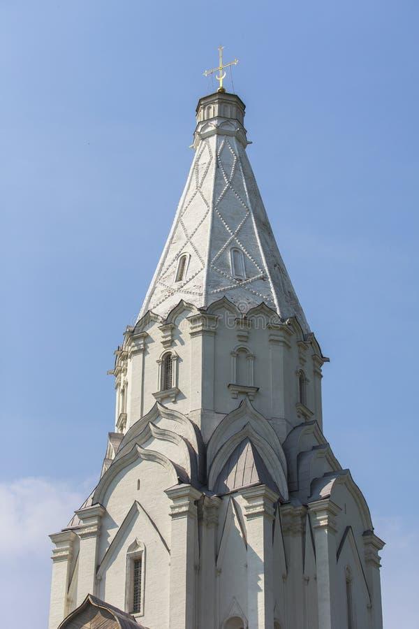 Kolomenskoe kyrka i Moskva royaltyfria bilder