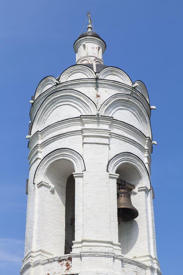 Kolomenskoe kyrka i Moskva arkivfoton
