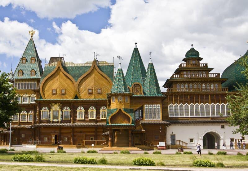 kolomenskoyemoscow slott royaltyfria bilder