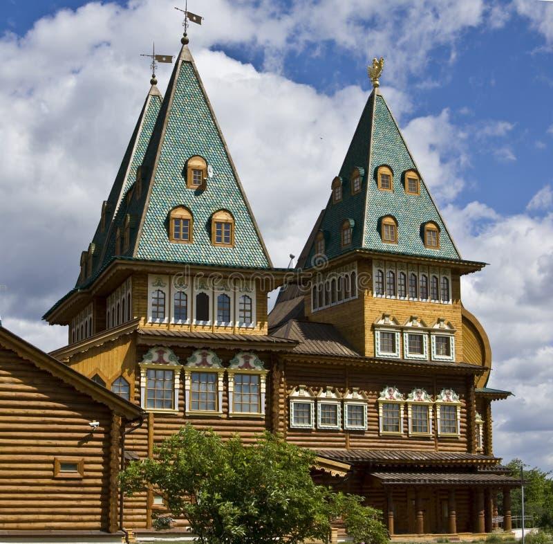 kolomenskoyemoscow slott royaltyfri foto