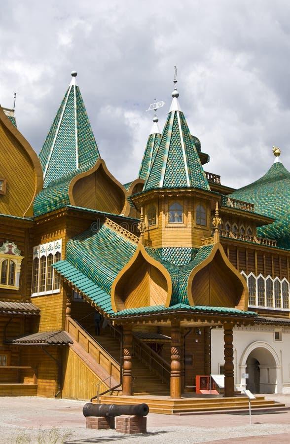 kolomenskoyemoscow slott royaltyfria foton