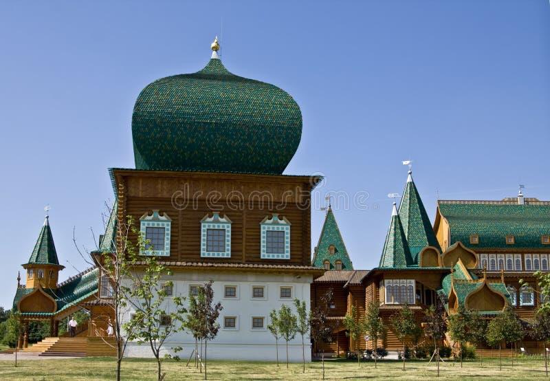 kolomenskoyemoscow slott royaltyfri bild