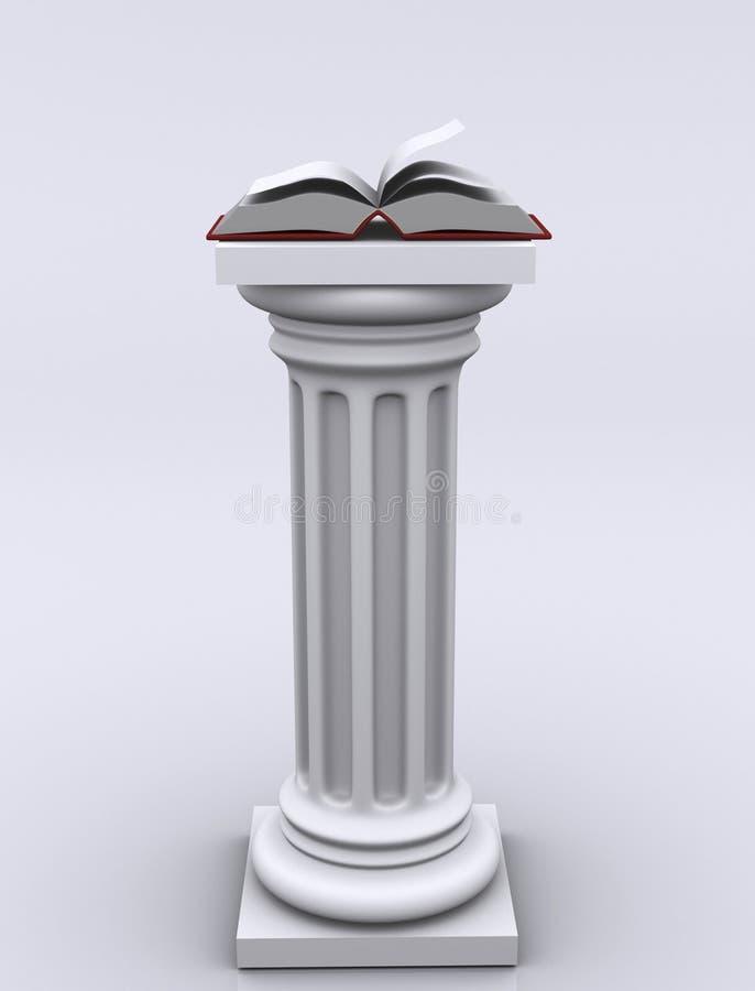 Kolommen 02 vector illustratie