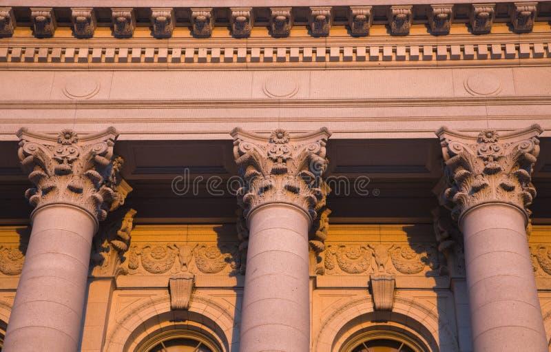 Kolommen stock afbeeldingen