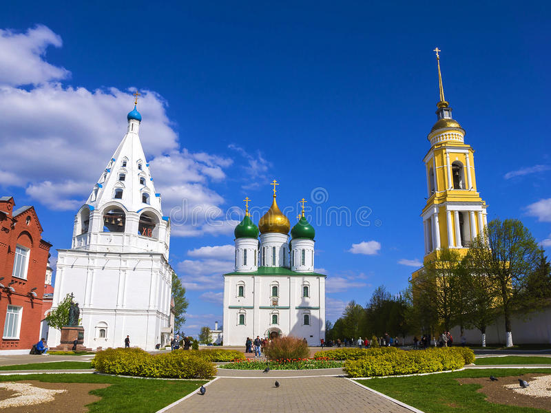 Kolomna,俄罗斯历史视域  图库摄影