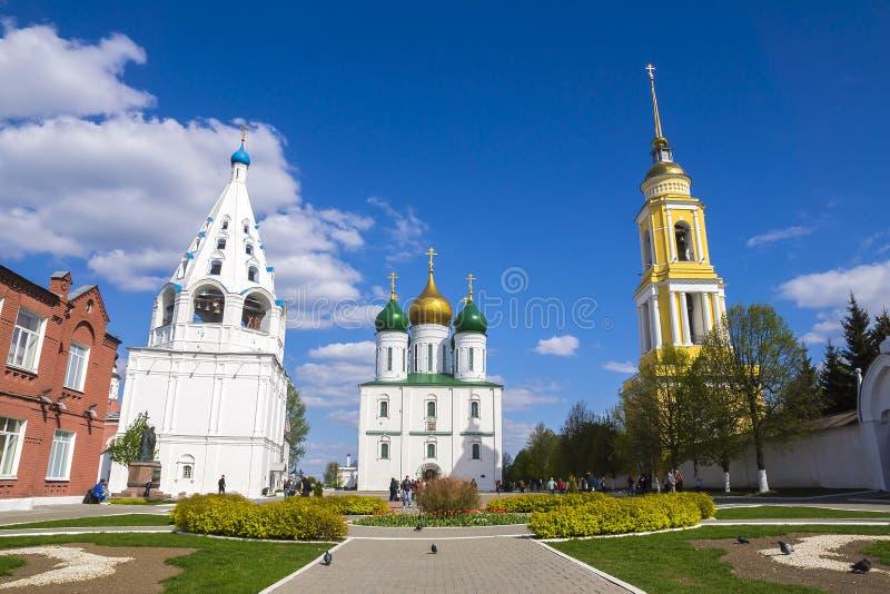 Kolomna,俄罗斯历史视域  库存照片