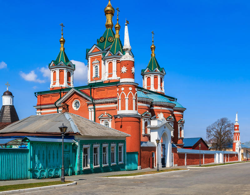 kolomna Κρεμλίνο στοκ φωτογραφίες με δικαίωμα ελεύθερης χρήσης