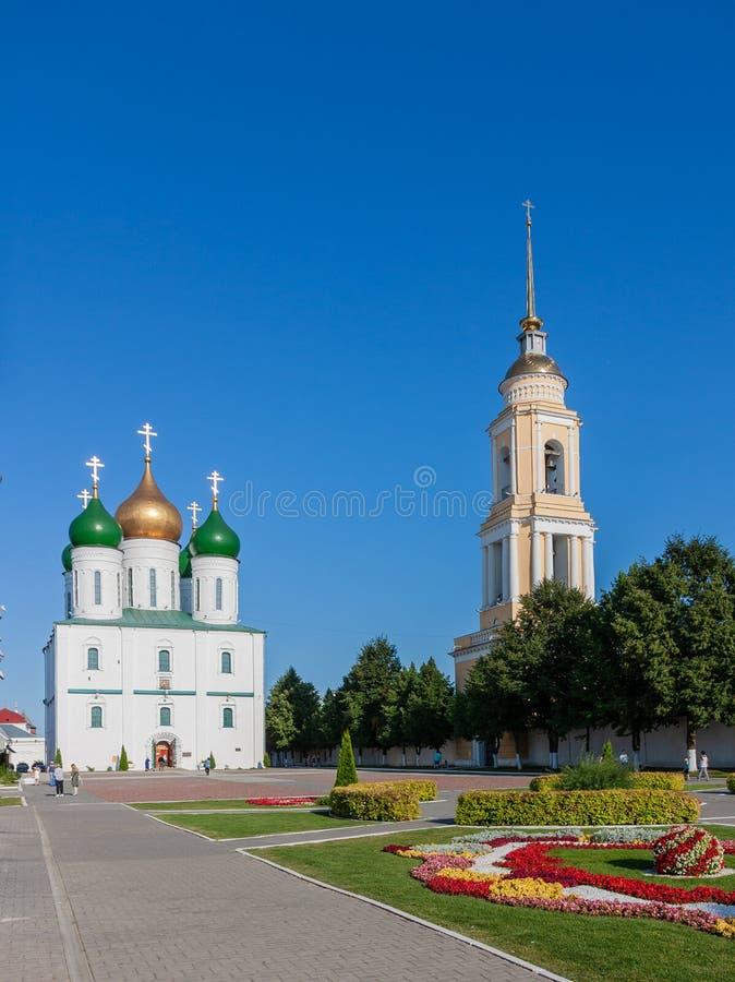 Kolomna, cathédrale d'hypothèse photo libre de droits