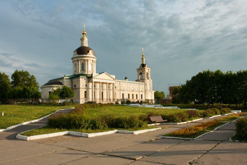 Kolomna, región de Moscú, Rusia Iglesia de Michael Archangel fotos de archivo libres de regalías