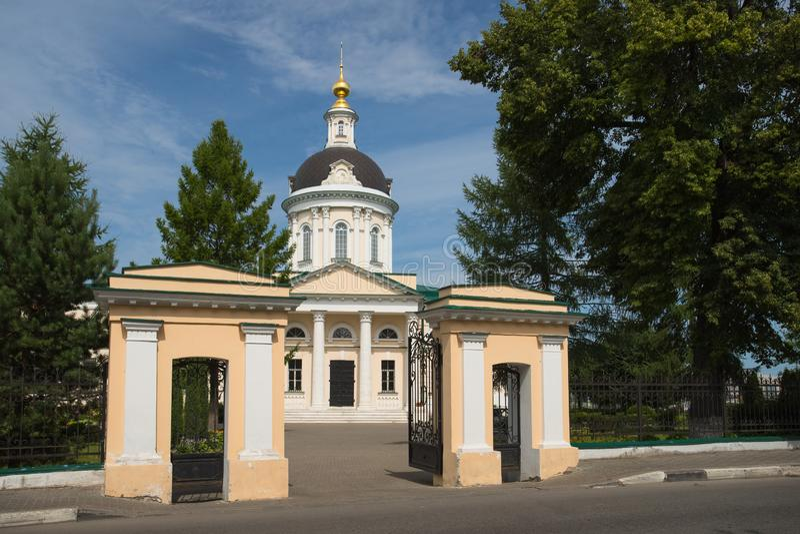 Kolomna, Rusia Iglesia de Michael Archangel In Sunny Day en suma foto de archivo libre de regalías