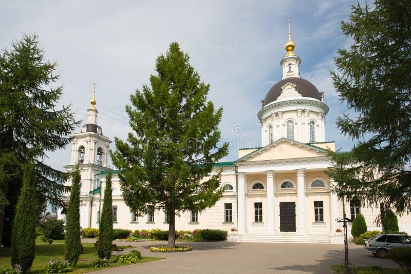 Kolomna, Rusia Iglesia de Michael Archangel In Sunny Day en suma imagen de archivo libre de regalías