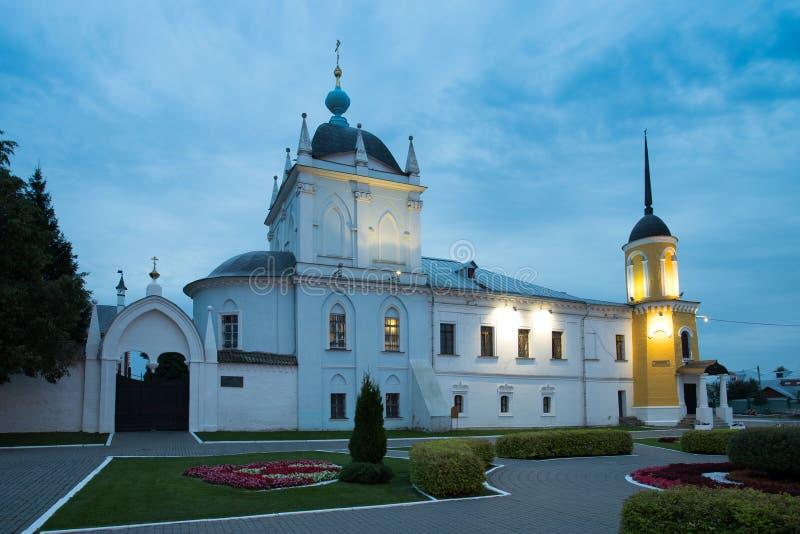 Kolomna, Russland Kirche der Fürbitte der heiligen Jungfrau in Novo-G stockfotografie